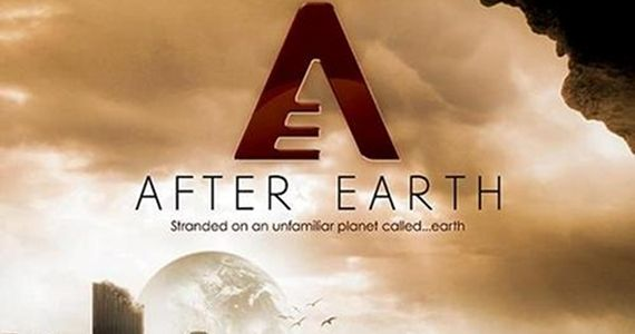 After Earth Movie Poster 2013 After Earth Trailer: Will & Jaden Smith Are Stranded in the Savage Land