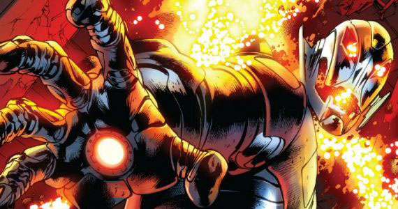 Age of Ultron 10 Art Marvel Comics Avengers 2: James Spader on Ultron; Scarjo Talks Taking it to the Streets