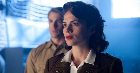 Agent Carter Hayley Atwell in The First Avenger Captain America Agent Carter TV Series Being Developed By Marvel?