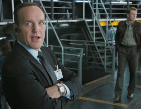 Agent Caulson in the Avengers