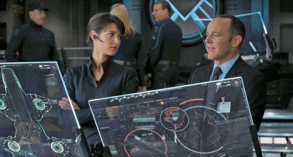 Agent Coulson Maria Hill Avengers Clark Greggs Agent Coulson Will Return in S.H.I.E.L.D. TV Series