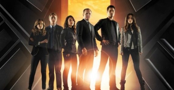 Agents of SHIELD Cast1 570x294 How Will Agents of S.H.I.E.L.D. Tie Into Captain America 2?