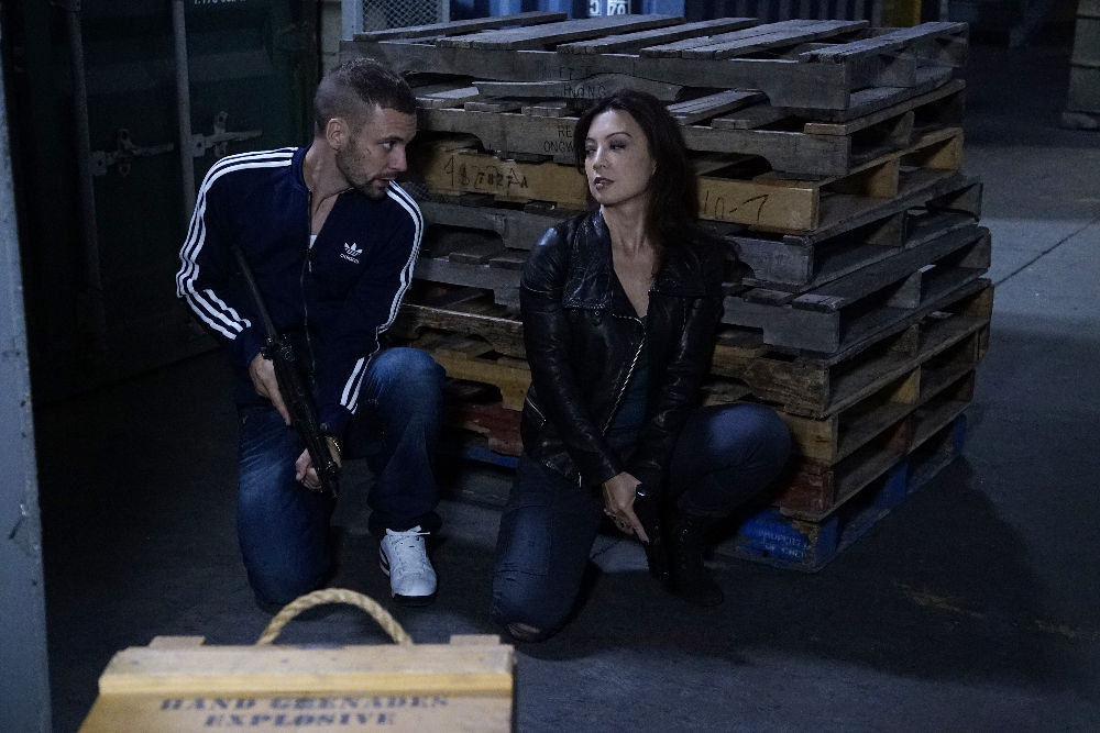 agents of shield ward and may hook up Ward was comforted by his trainee, skye (chloe bennet), but ultimately wound  up in the hotel room of agent melinda may (ming-na wen) with.