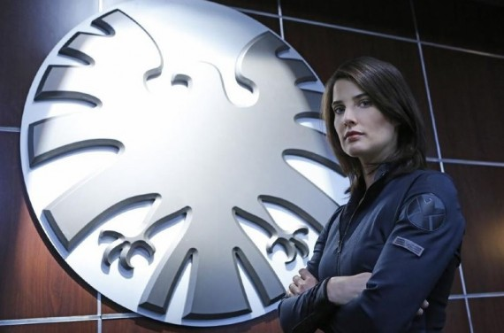Agents of SHIELD pilot episode Maria Hill 570x376 Agents of SHIELD pilot episode   Maria Hill