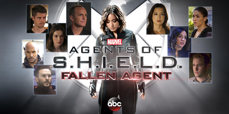 Agents of Shield Fallen Agent Poster Agents of S.H.I.E.L.D. Producers Talk Season 3 Finale & Season 4