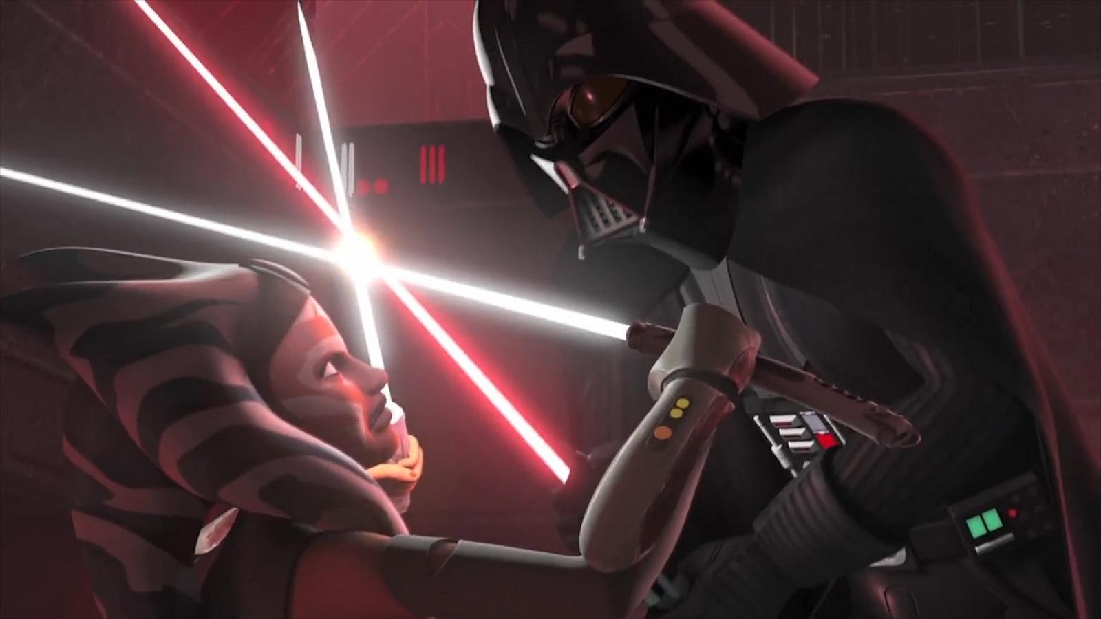 star wars rebels meet ahsoka and anakin
