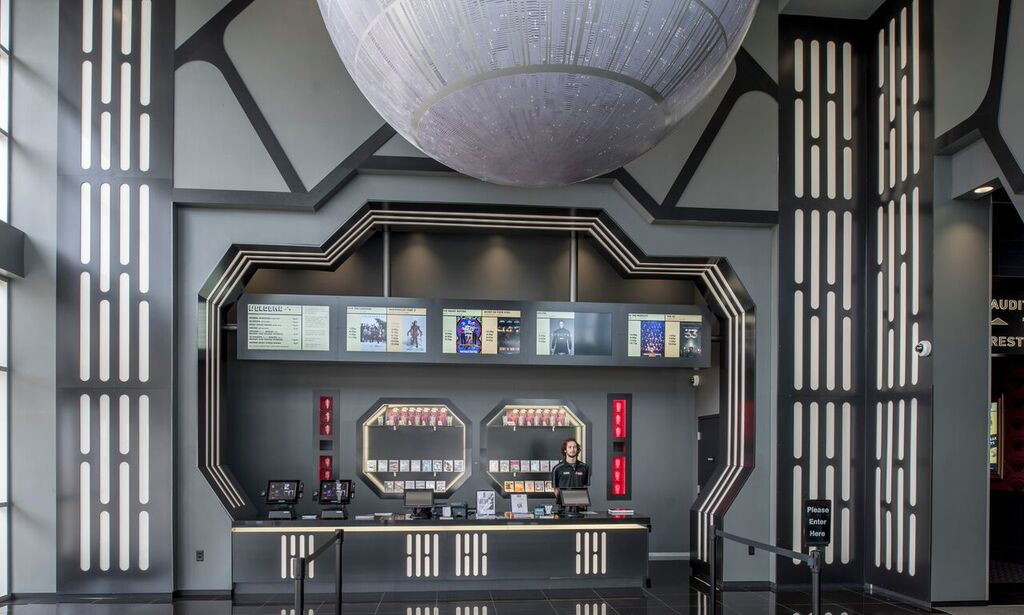 Alamo Drafthouse Opens Star Wars Themed Theater