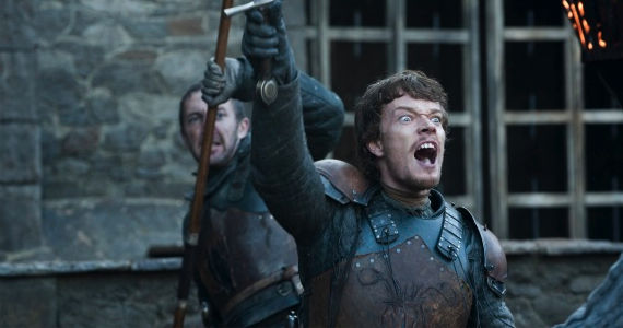 Alfie Allen Game of Thrones Valar Morghulis Game of Thrones Season 2 Finale Review