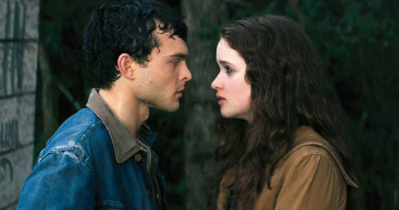 Alice Englert and Alden Ehrenreich in Beautiful Creatures Photo Beautiful Creatures Set Visit: Watching Witchcraft Come to Life