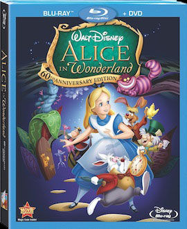 Alice in Wonderland DVD blu ray box art DVD/Blu ray Breakdown: February 1st, 2011