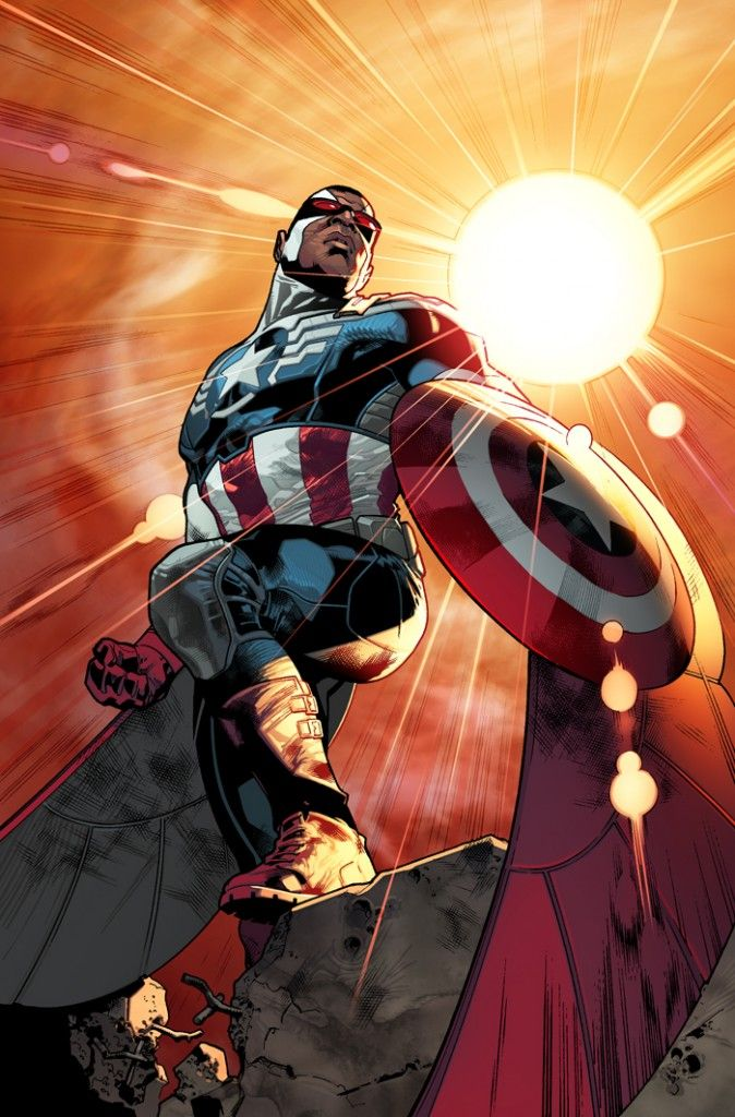 All New Captain America Sam Wilson Falcon1 674x1024 Avengers NOW! Reboot: What It Means for Future Marvel Movies [Updated]