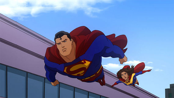 All Star Superman Movie Lois Superman All Star Superman Review (Blu ray)