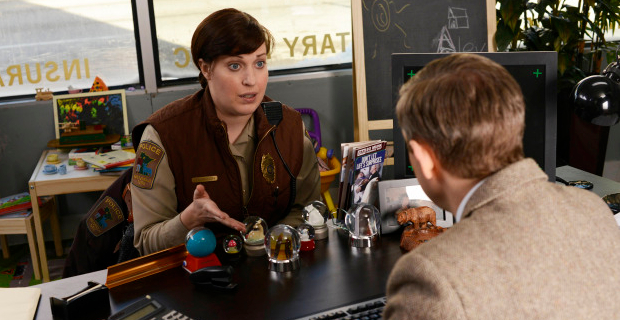 Allison Tolman and Martin Freeman in Fargo Episode 3 Fargo Is Gettin Super Ticked Here