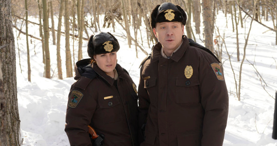 Allison Tolman and Shawn Doyle in Fargo Episode 1 Fargo Series Premiere Review