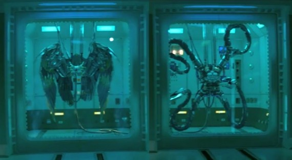 Amazing Spider Man 2 Doc Ock Vulture 570x313 Sinister Six Line up Will Feature Best Six You Can Imagine