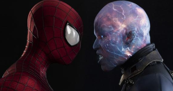 Amazing Spider Man 2 Electro Faceoff Sony Testing The Amazing Spider Man 2 Subtitles With Audiences
