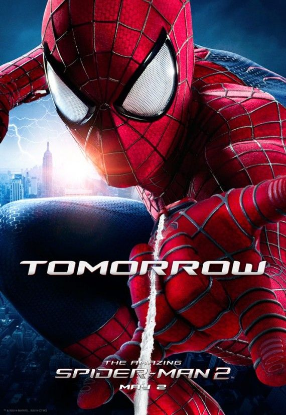 Amazing Spider Man 2 Final Trailer Teaser Poster 570x825 Amazing Spider Man 2 Final Trailer Teaser Poster