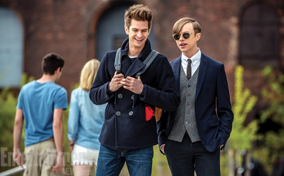 Amazing Spider Man 2 Peter Parker Harry Osborn 570x353 Amazing Spider Man 2   Peter Parker & Harry Osborn