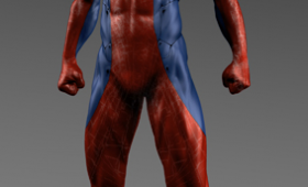 Amazing Spider Man Alternate Costume Design 2 280x170 Amazing Spider Man Character Concept Art; Rhys Ifans Talks Playing a CGI Lizard Man