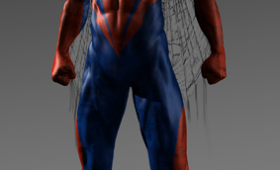 Amazing Spider Man Alternate Costume Design 3 280x170 Amazing Spider Man Character Concept Art; Rhys Ifans Talks Playing a CGI Lizard Man