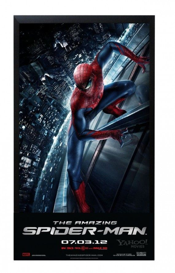 Amazing Spider Man City Poster 570x890 The Amazing Spider Man City Poster