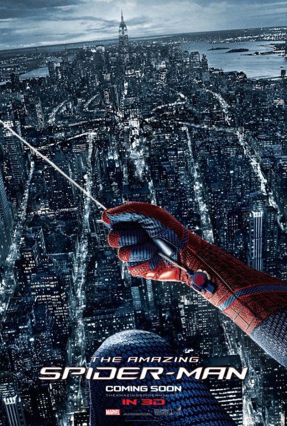 Amazing Spider Man International Poster 2 570x844 Amazing Spider Man International Poster 2