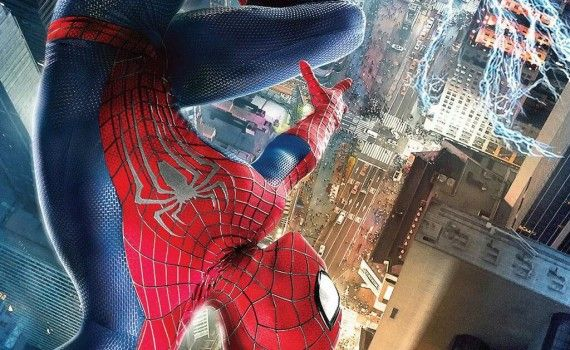 Amazing Spider Man International Poster 31 570x350 Amazing Spider Man 2 International Posters: Times Square Showdown