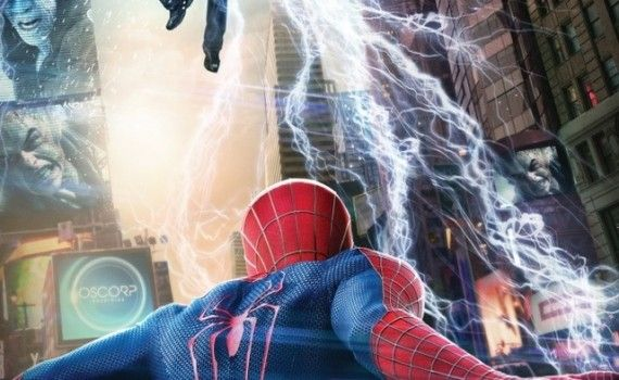Amazing Spider Man International Poster 570x350 Amazing Spider Man 2 International Posters: Times Square Showdown