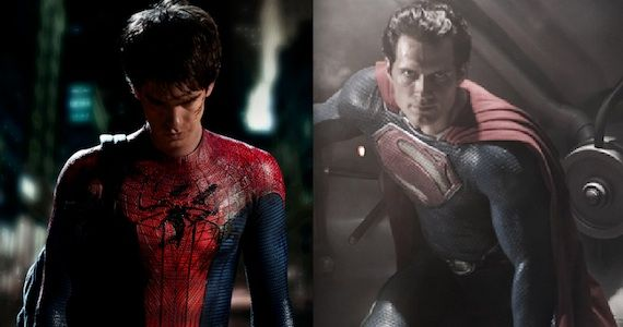Amazing Spider Man Man of Steel Spoilers The Amazing Spider Man & Man of Steel to Feature Altered Origin Stories