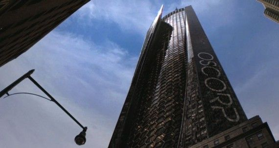 Amazing Spider Man Oscorp Building 570x302 Amazing Spider Man    Oscorp Building