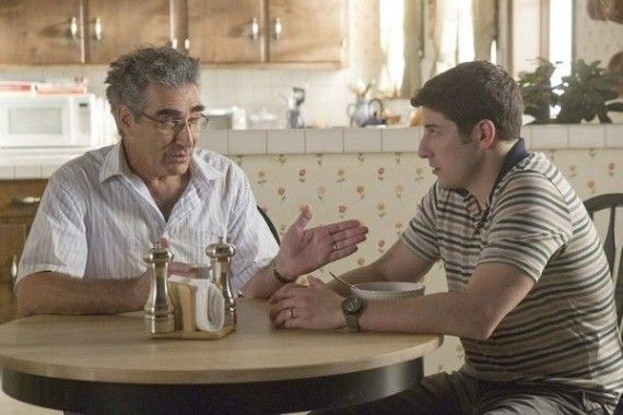 American Reunion Eugene Levy and Jason Biggs 570x380 American Reunion Eugene Levy and Jason Biggs