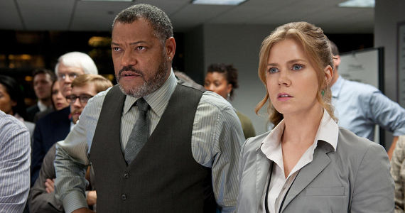 Amy Adams and Laurence Fishburne in Man of Steel Man of Steel Review