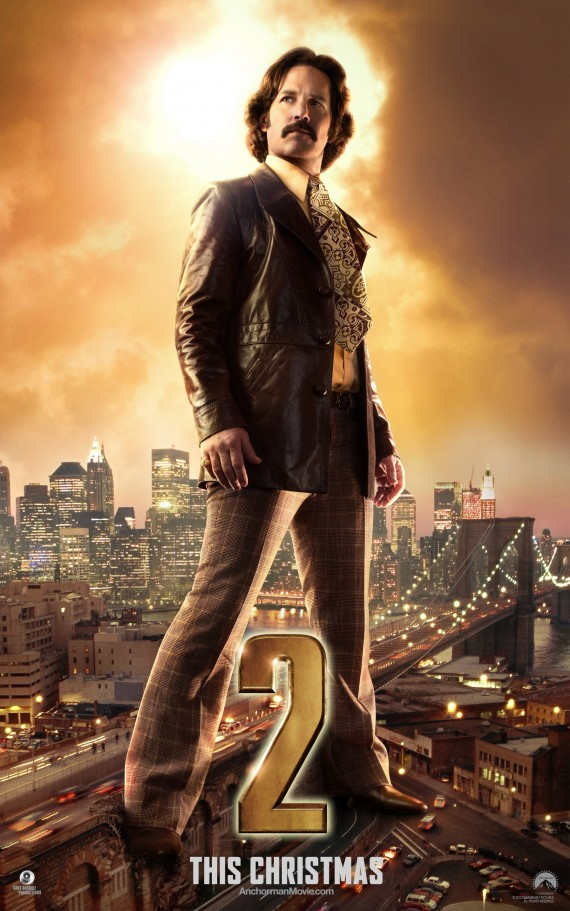 Anchorman 2 Brian poster 570x911 Anchorman 2   Brian poster