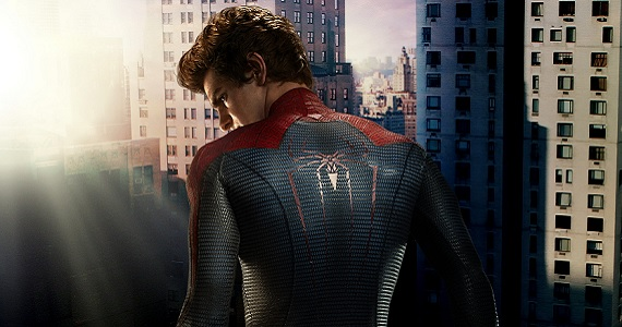 Andrew Garfield as Peter Parker in Spider Man Amazing Spider Man 2 Filming Wraps; Marc Webb Celebrates With Set Video