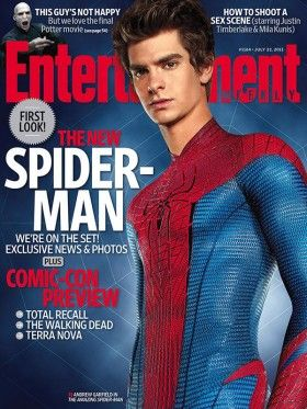 Spider-Man will be British Andrew-Garfield-as-Spider-Man-EW-cover-280x373