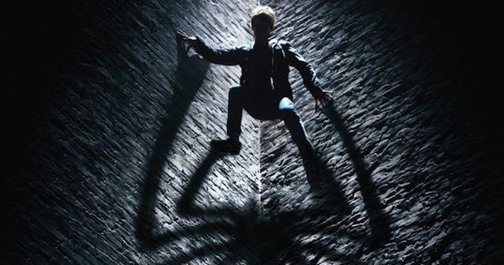 Andrew Garfield in The Amazing Spider Man Poster The Amazing Spider Man Teaser Poster Promises The Untold Story