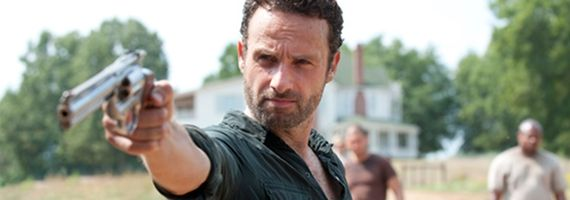 Andrew Lincoln as Rick Grimes in The Walking Dead season 2 The Walking Dead Season 2 Midseason Finale Review