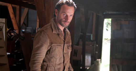 Andrew Lincoln in The Walking Dead Arrow on the Doorpost The Walking Dead Season 3, Episode 13 Review – In Good Faith