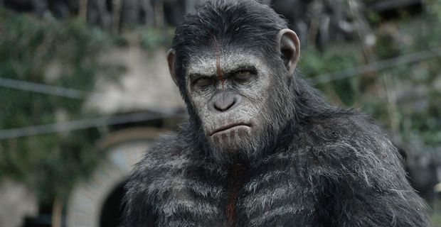 Andy Serkis as Caesar in Dawn of the Planet of the Apes Dawn of the Planet of the Apes Review