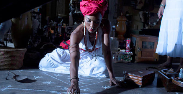 Angela Bassett in AHS Coven Fearful Pranks Ensue American Horror Story: Coven: All Tricks and No Treats on Halloween