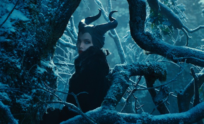 Angelina Jolie Plays Maleficent 700x425 Maleficent Hi Res Images Bring Sleeping Beauty to Life