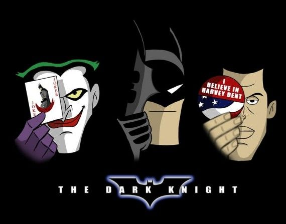 Animated Dark Knight 570x447 SR Geek Picks: Animated Dark Knight, Tom Waits Joker & Catwomans Last Laugh