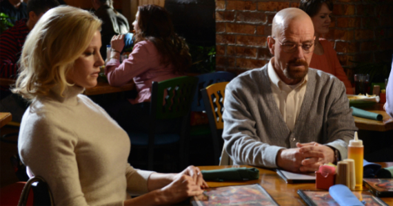 Anna Gunn and Bryan Cranston in Breaking Bad Confessions Breaking Bad Season 5, Episode 11 Review – An Ongoing Situation