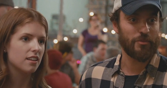 Anna Kendrick and Jake Johnson in Drinking Buddies Drinking Buddies Review