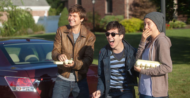 Ansel Elgort Nat Wolff Shailene Woodley The Fault in Our Stars The Fault in Our Stars Review