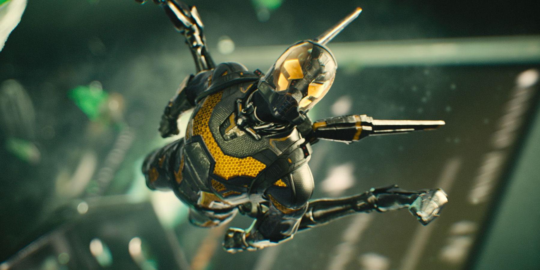 Yellow jacket -  Ant Man Photos An Incredible Look At Yellowjacket Ant Armies