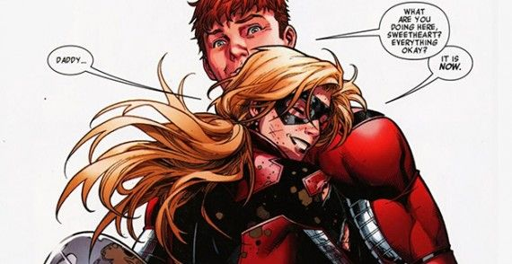 Ant Man Scott and Cassie Lang Marvel Comics 570x294 Ant Man   Scott and Cassie Lang