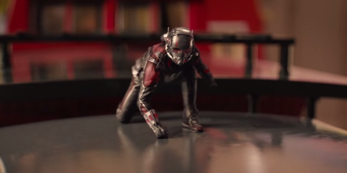 Paul Rudd in Ant-Man - Thomas the Tank Engine Train Set Fight Sequence
