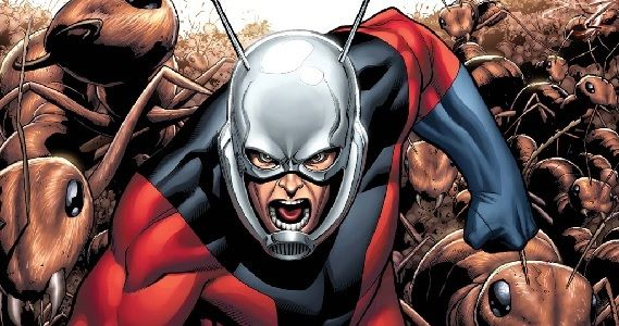 Ant Man with his ant friends Marvel Movie Interview Roundup: Guardians of the Galaxy and Ant Man