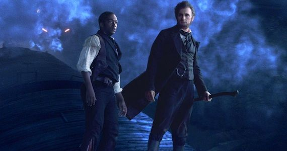 Anthony Mackie Benjamin Walker Abraham Lincoln Vampire Hunter Abraham Lincoln: Vampire Hunter Review